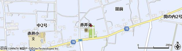 赤井八幡神社周辺の地図