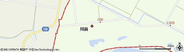 宮城県大崎市鹿島台大迫(川前)周辺の地図