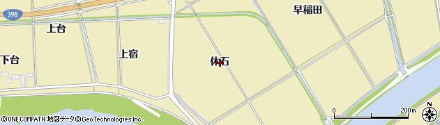 宮城県石巻市大瓜休石周辺の地図