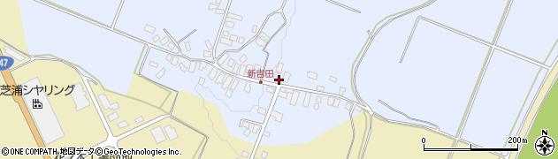 山形県西村山郡河北町新吉田4周辺の地図