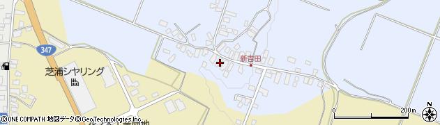 山形県西村山郡河北町新吉田13周辺の地図