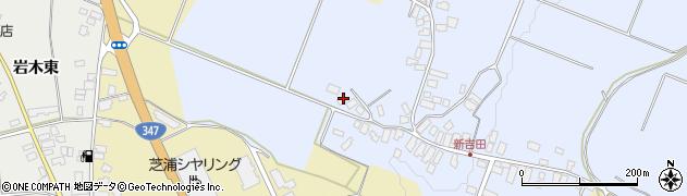 山形県西村山郡河北町新吉田72周辺の地図