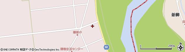 宮城県大崎市鹿島台木間塚(西向袋)周辺の地図