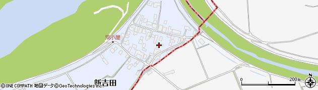 山形県西村山郡河北町新吉田周辺の地図