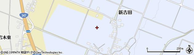 山形県西村山郡河北町新吉田新吉田北周辺の地図
