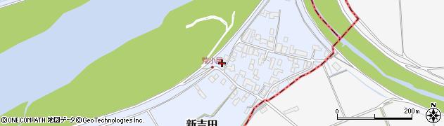 山形県西村山郡河北町新吉田609周辺の地図