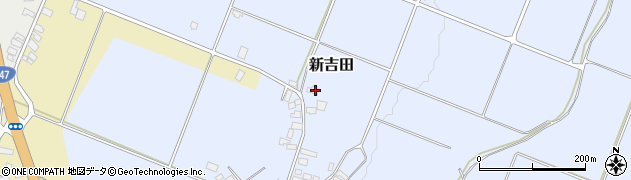 山形県西村山郡河北町新吉田1344周辺の地図