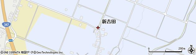 山形県西村山郡河北町新吉田954-4周辺の地図