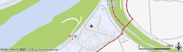 山形県西村山郡河北町新吉田952周辺の地図