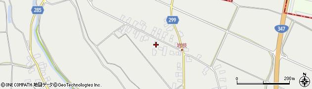 山形県西村山郡河北町岩木1089周辺の地図