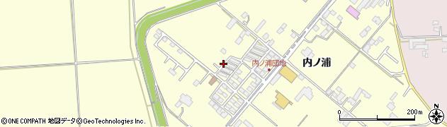 宮城県大崎市鹿島台広長(内ノ浦)周辺の地図