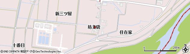 宮城県大崎市鹿島台木間塚(坊主袋)周辺の地図
