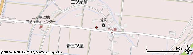 宮城県大崎市鹿島台木間塚(新三ツ屋)周辺の地図