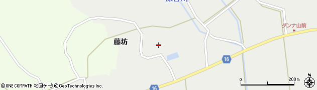 宮城県大崎市鹿島台深谷(藤坊)周辺の地図