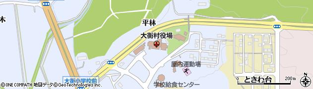 宮城県大衡村(黒川郡)周辺の地図