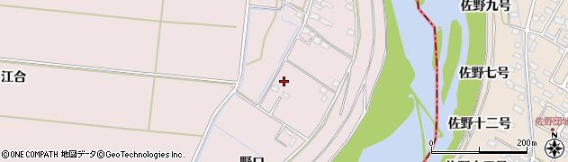 宮城県大崎市鹿島台木間塚(野口)周辺の地図