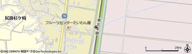 宮城県大崎市鹿島台平渡(蛇田尻)周辺の地図