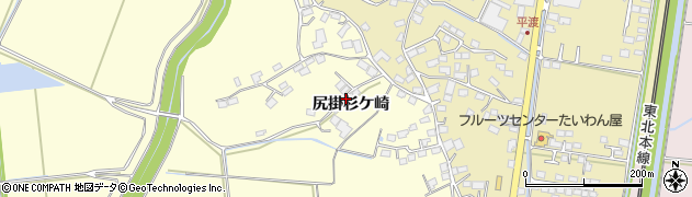 宮城県大崎市鹿島台広長(尻掛杉ケ崎)周辺の地図
