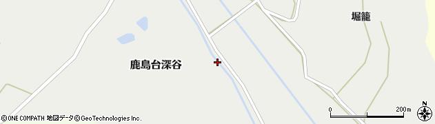 宮城県大崎市鹿島台深谷(宮川)周辺の地図