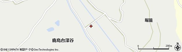 宮城県大崎市鹿島台深谷(深谷沢)周辺の地図