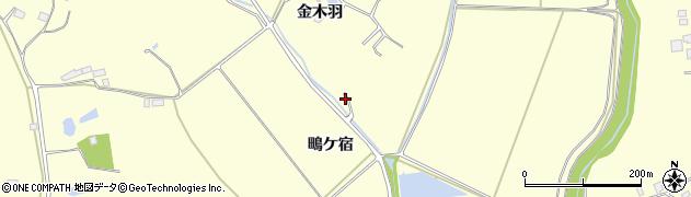 宮城県大崎市鹿島台広長(大師沢)周辺の地図