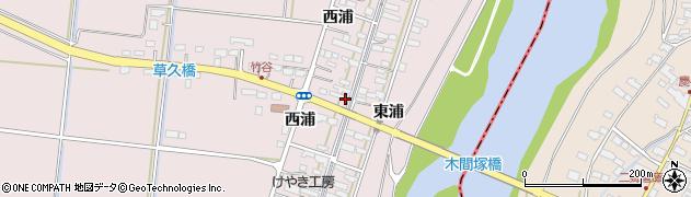 宮城県大崎市鹿島台木間塚(竹谷)周辺の地図