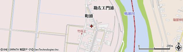 宮城県大崎市鹿島台木間塚(西浦)周辺の地図