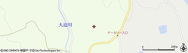 宮城県大崎市鹿島台大迫(早坂)周辺の地図