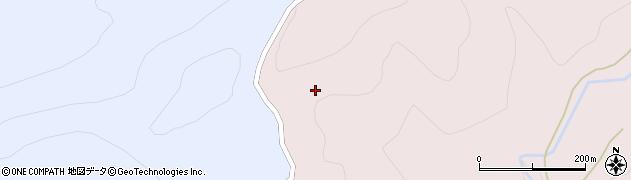 山形県寒河江市白岩畑周辺の地図