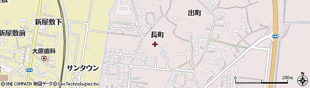 宮城県大崎市鹿島台木間塚(長町)周辺の地図