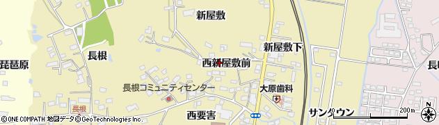 宮城県大崎市鹿島台平渡(西新屋敷前)周辺の地図