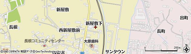 宮城県大崎市鹿島台平渡(新屋敷下)周辺の地図