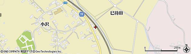 宮城県大崎市鹿島台平渡(中沢)周辺の地図