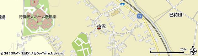 宮城県大崎市鹿島台平渡(小沢)周辺の地図