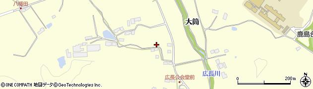 宮城県大崎市鹿島台広長(中上下)周辺の地図