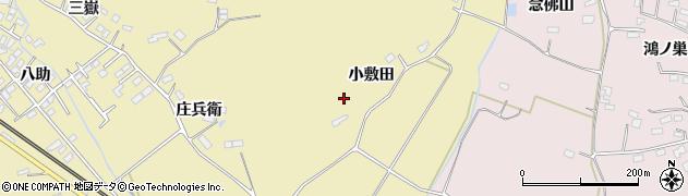 宮城県大崎市鹿島台平渡(小敷田)周辺の地図