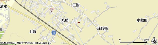 宮城県大崎市鹿島台平渡(巳待田)周辺の地図