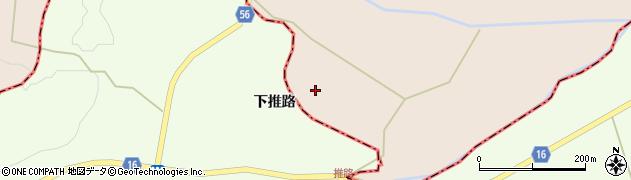 宮城県大崎市三本木伊賀(下伊賀)周辺の地図