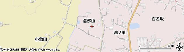 宮城県大崎市鹿島台木間塚(念佛山)周辺の地図
