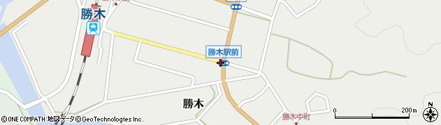 勝木駅前周辺の地図