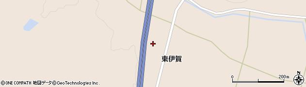 宮城県大崎市三本木伊賀(西伊賀)周辺の地図