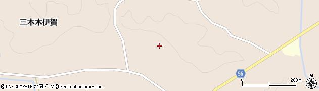 宮城県大崎市三本木伊賀(糸繰上)周辺の地図