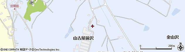 宮城県大崎市鹿島台船越(山古屋前沢)周辺の地図