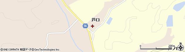宮城県大崎市三本木伊賀(芦口)周辺の地図