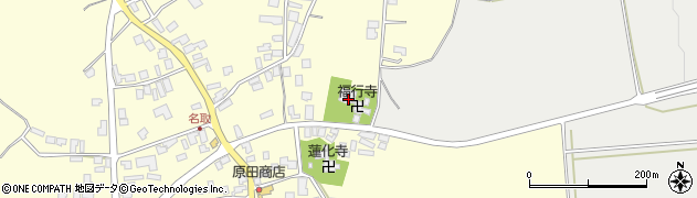 福行寺周辺の地図