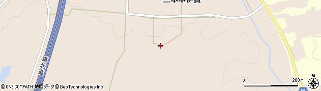 宮城県大崎市三本木伊賀(大洞)周辺の地図