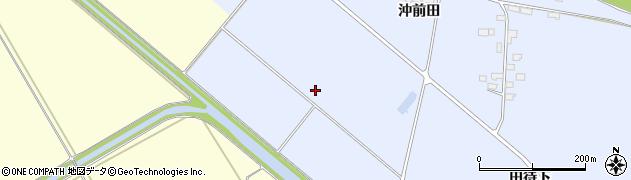宮城県大崎市鹿島台船越(長柳下)周辺の地図