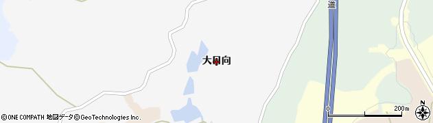 宮城県大崎市三本木蟻ケ袋(大日向)周辺の地図