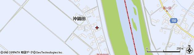 宮城県大崎市鹿島台船越(本屋敷)周辺の地図