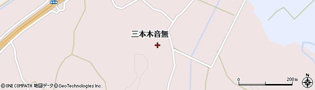 宮城県大崎市三本木音無周辺の地図